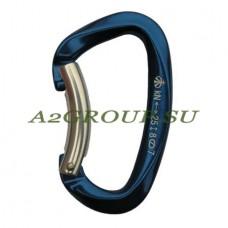 Карабин скалолазный с гнутой защелкой keylock (VERTIKAL)