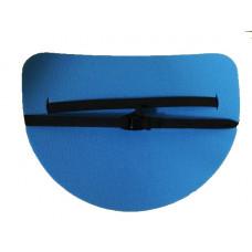 Сиденье туристическое 16 мм полукруглое